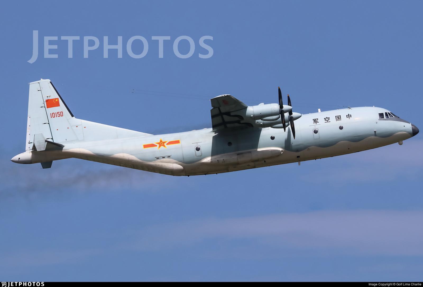 10150 - Shaanxi Y-9 - China - Air Force