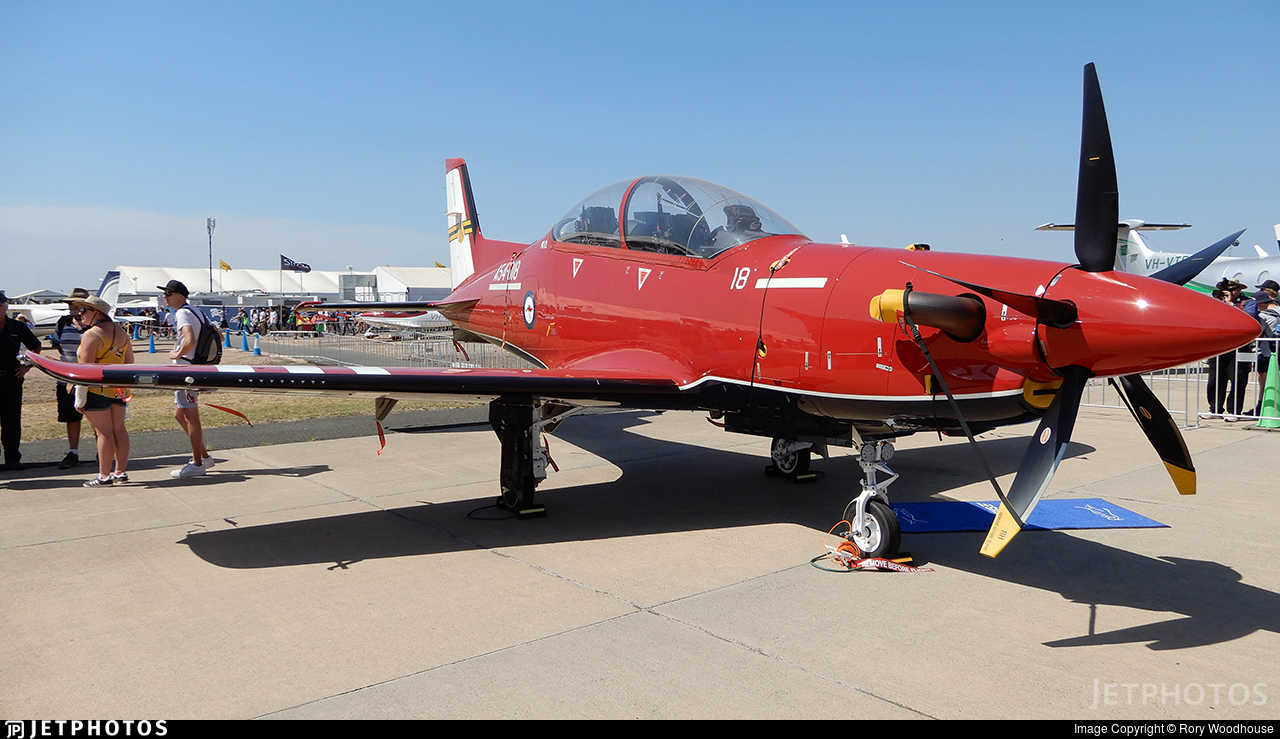 A54-018 - Pilatus PC-21 - Australia - Royal Australian Air Force (RAAF)