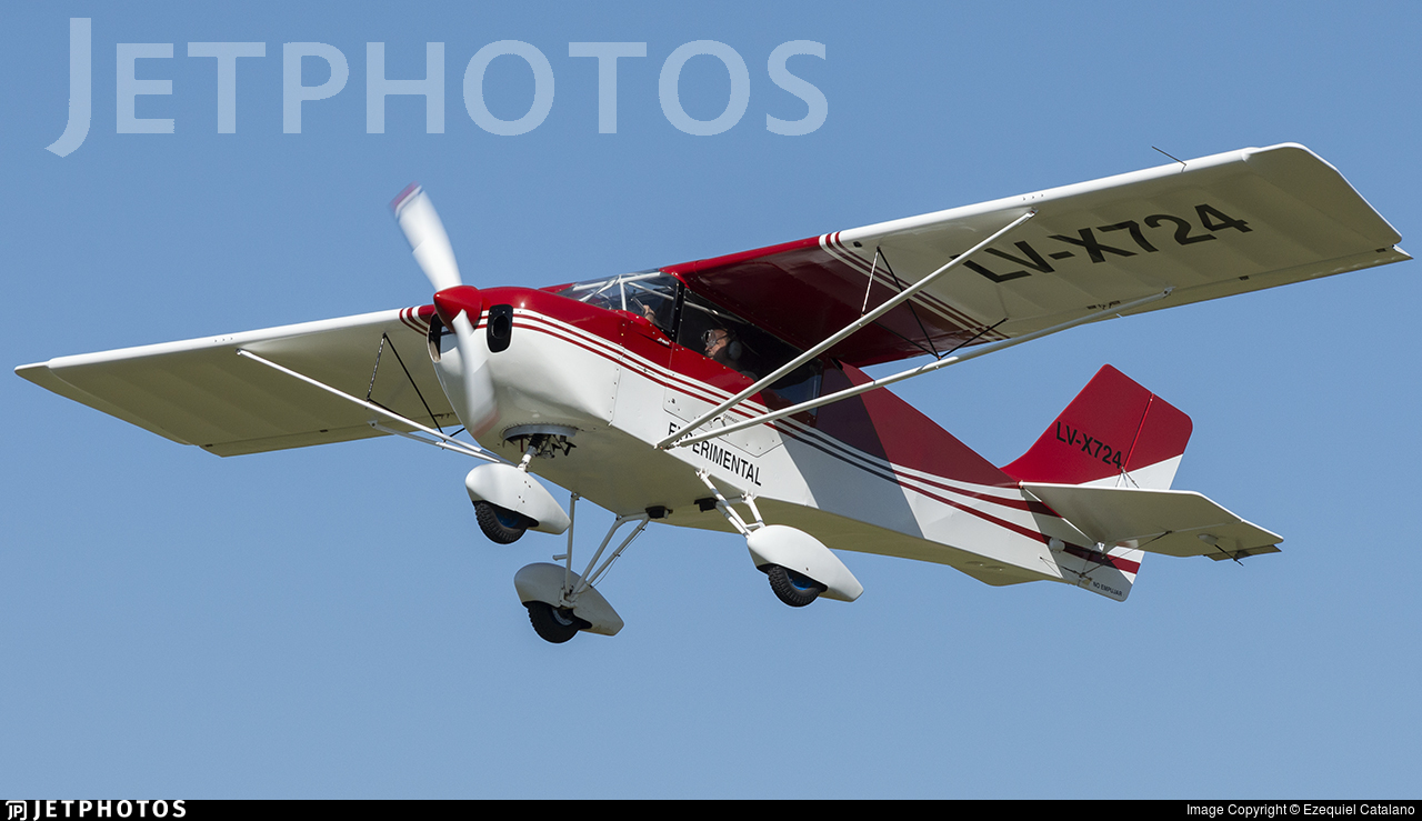 LV-X724 - Homebuilt Aircraft Facil MS 1/3 - Private
