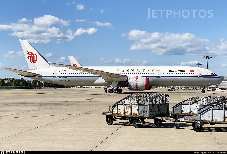B-7878 - Boeing 787-9 Dreamliner - Air China