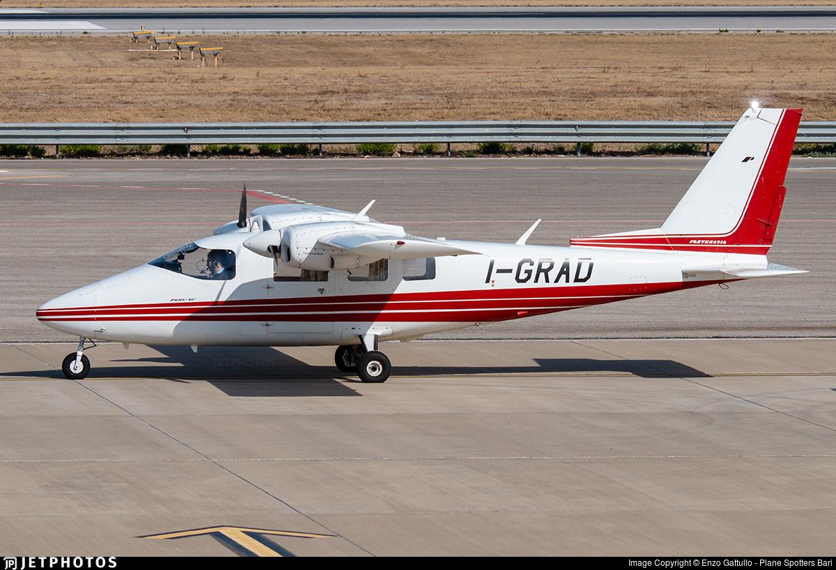 I-GRAD - Partenavia P.68C-TC Victor - Private