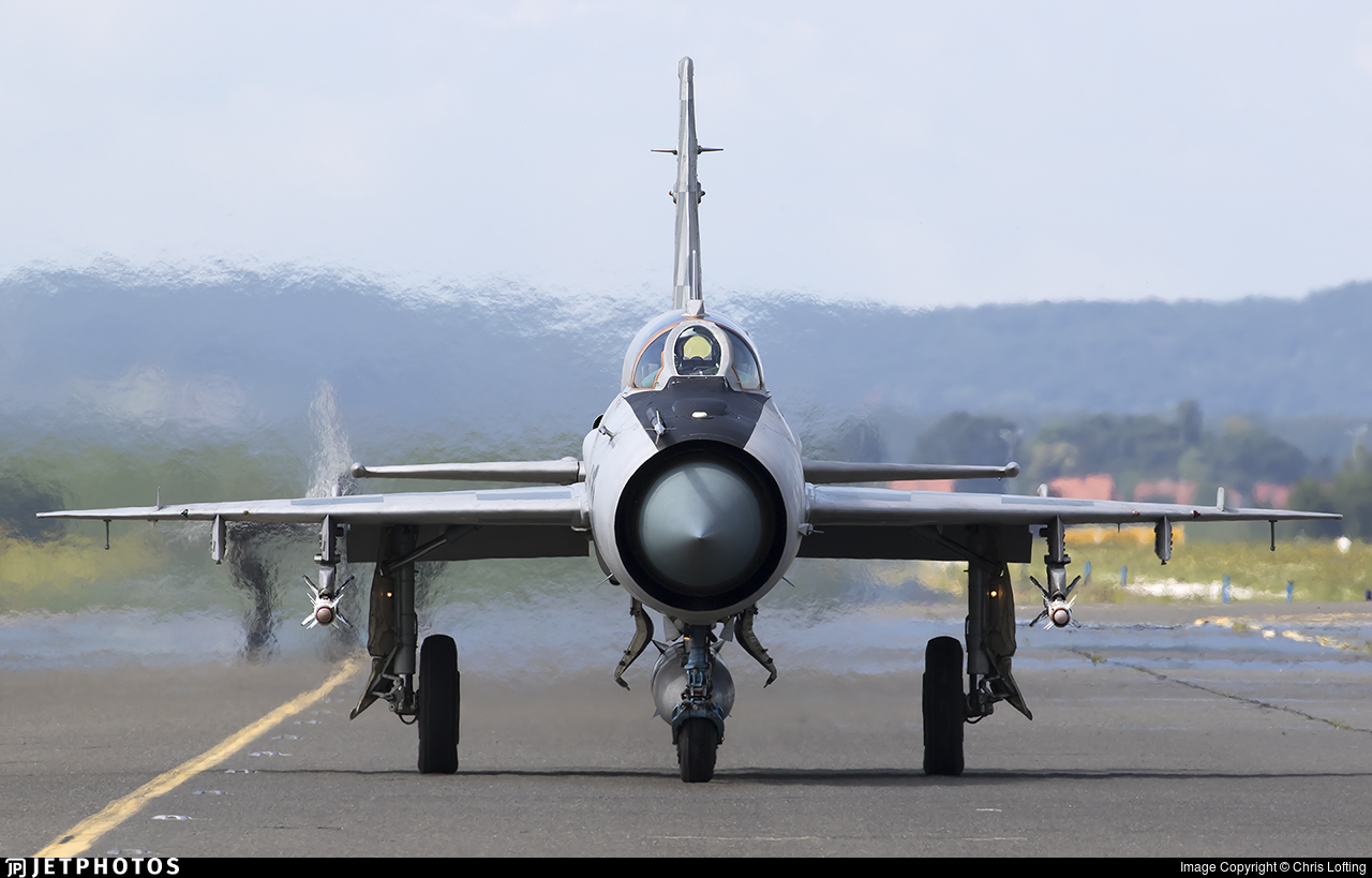 117 - Mikoyan-Gurevich Mig-21bisD Fishbed L - Croatia - Air Force