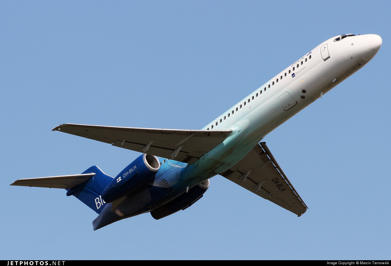 OH-BLH - Boeing 717-2CM - Blue1