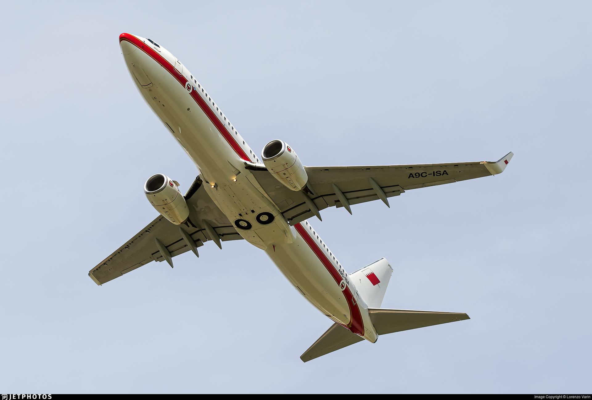 A9C-ISA - Boeing 737-86J - Bahrain - Royal Flight