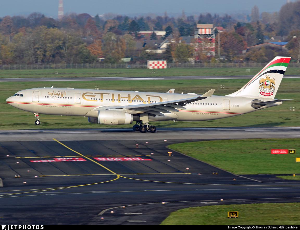 A6-EYR - Airbus A330-243 - Etihad Airways