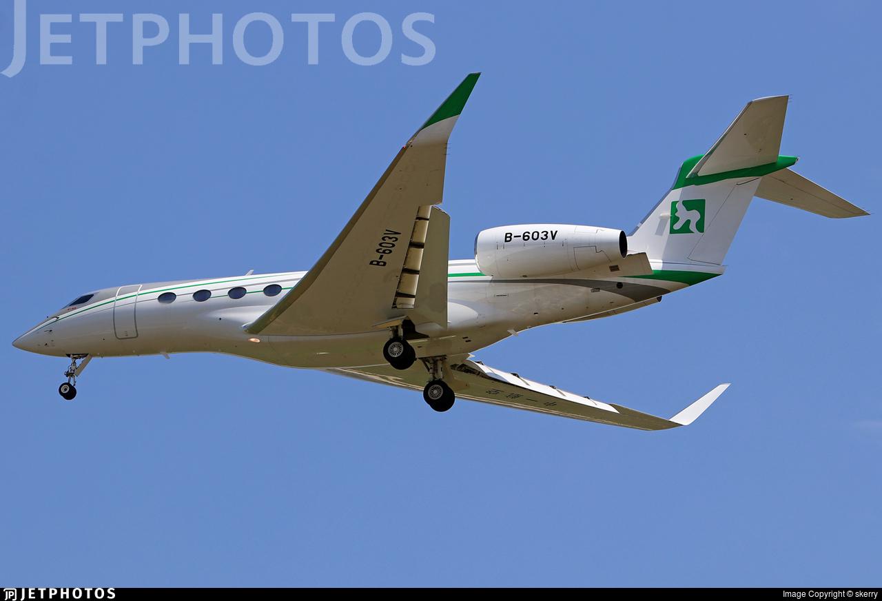 B-603V - Gulfstream G650ER - Zyb Lily Jet