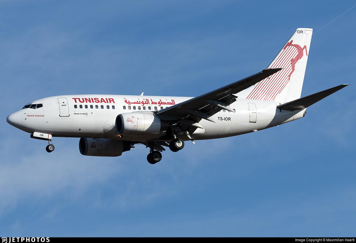TS-IOR - Boeing 737-6H3 - Tunisair