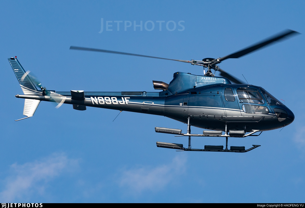 N898JF - Eurocopter AS 350B3 Ecureuil - Private