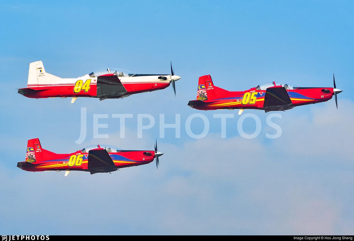 M50-20 - Pilatus PC-7 Mk.II - Malaysia - Air Force