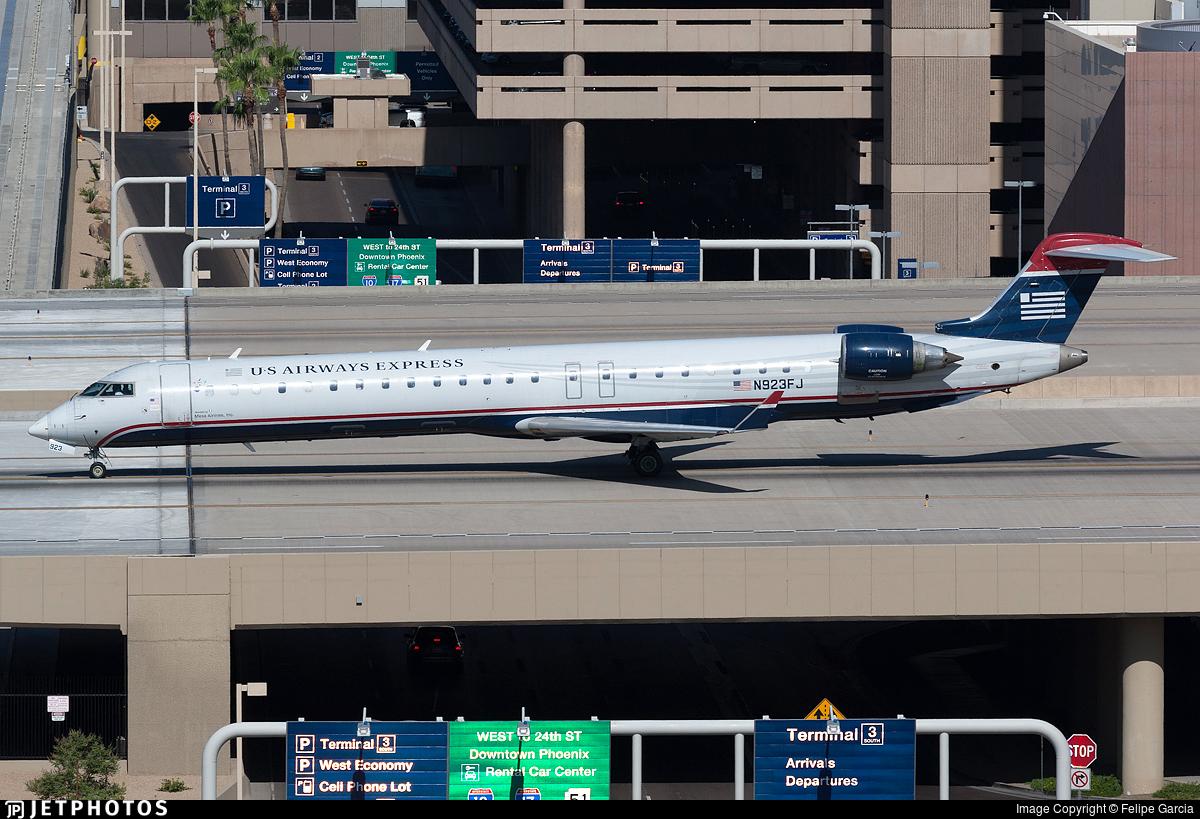 N923FJ - Bombardier CRJ-900ER - US Airways Express (Mesa Airlines)