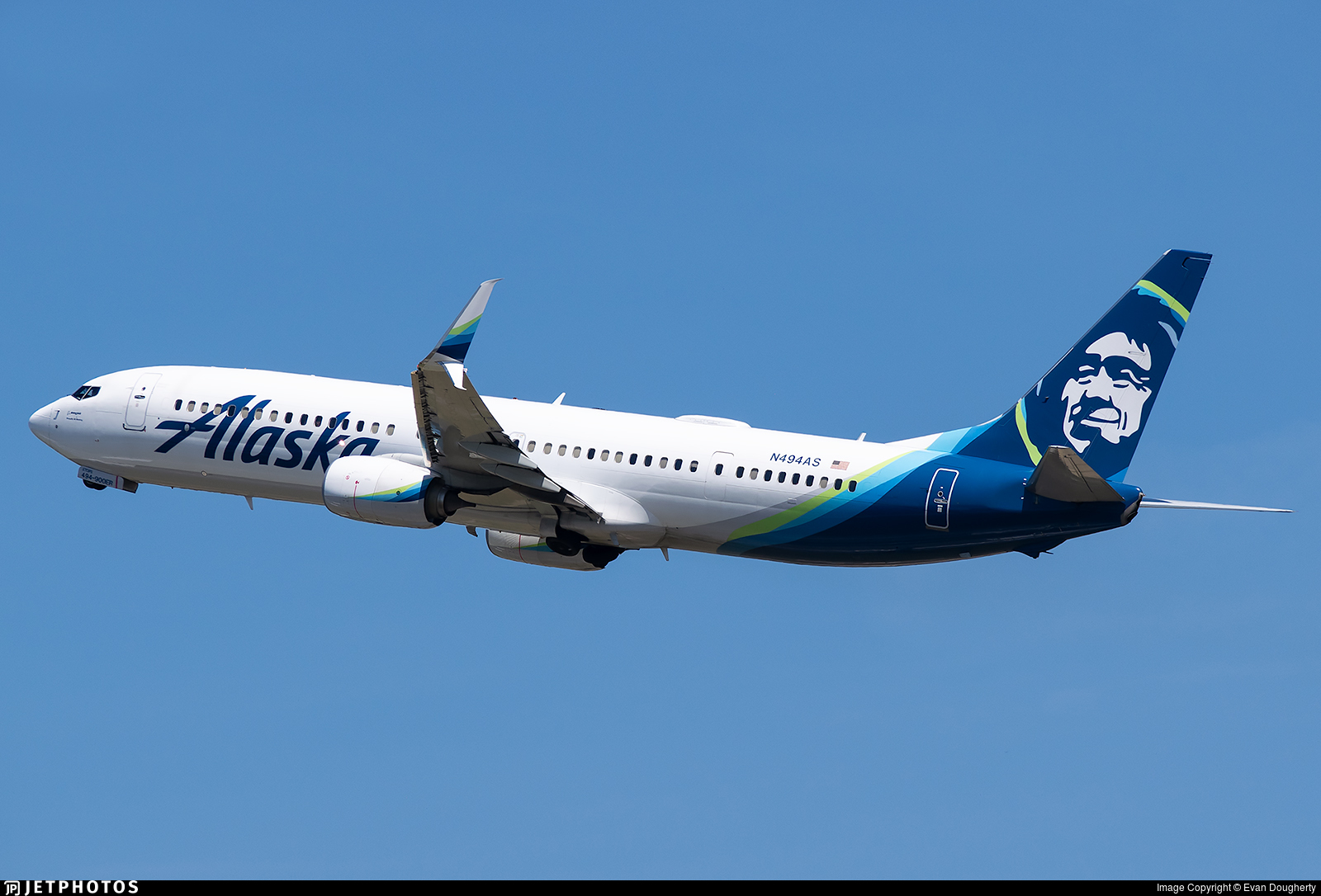 N494AS - Boeing 737-990ER - Alaska Airlines