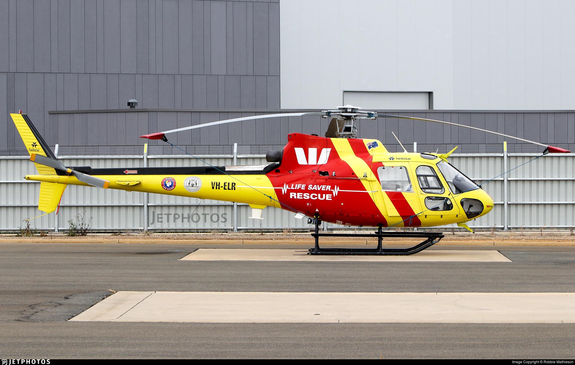 VH-ELR - Aérospatiale AS 350BA Ecureuil - Helistar Aviation