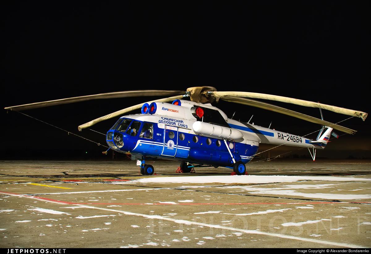 RA-24684 - Mil Mi-8T Hip - Aero Kuzbass
