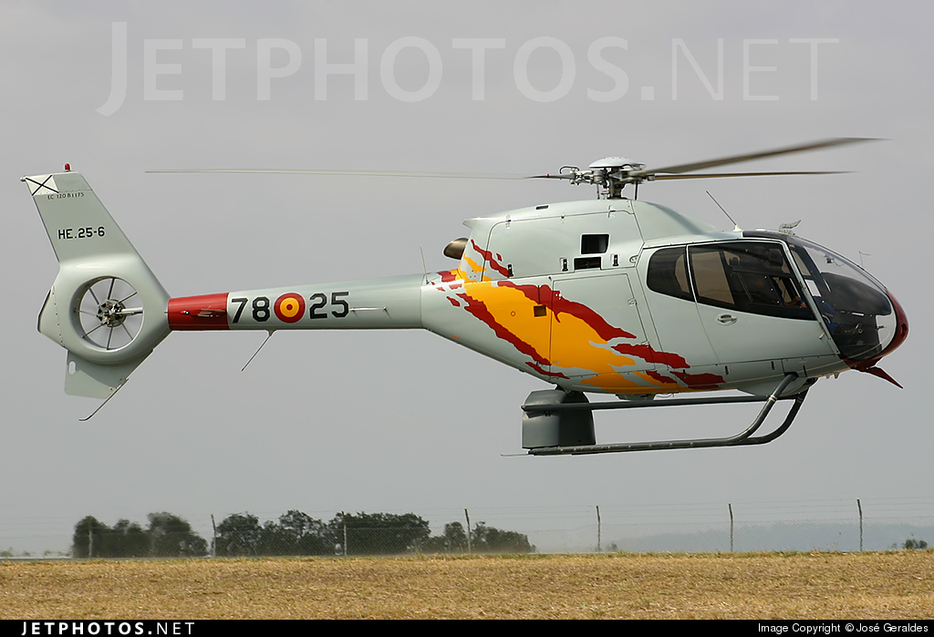HE.25-6 - Eurocopter EC 120B Colibri - Spain - Air Force