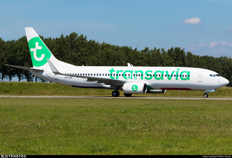 PH-HSB - Boeing 737-8K2 - Transavia Airlines