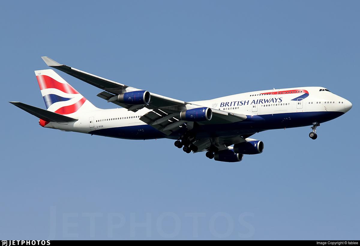 G-BYGB - Boeing 747-436 - British Airways