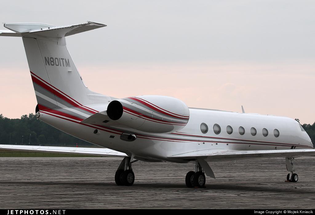 N801TM - Gulfstream G550 - Private