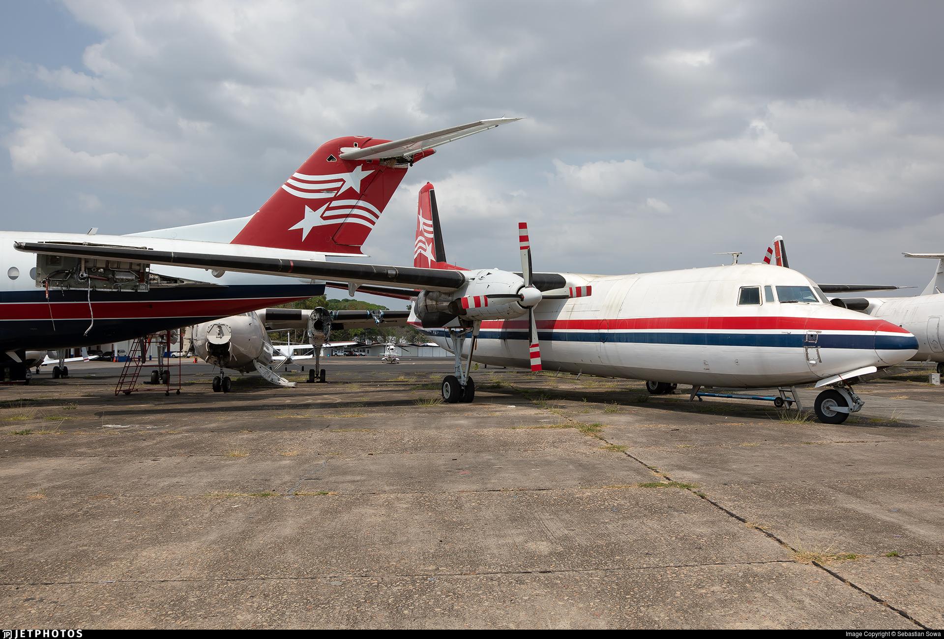 HP-1604 - Fokker F27-500F Friendship - Air Panama