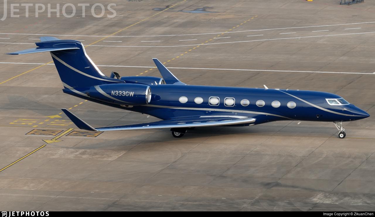N333GW - Gulfstream G650 - Private