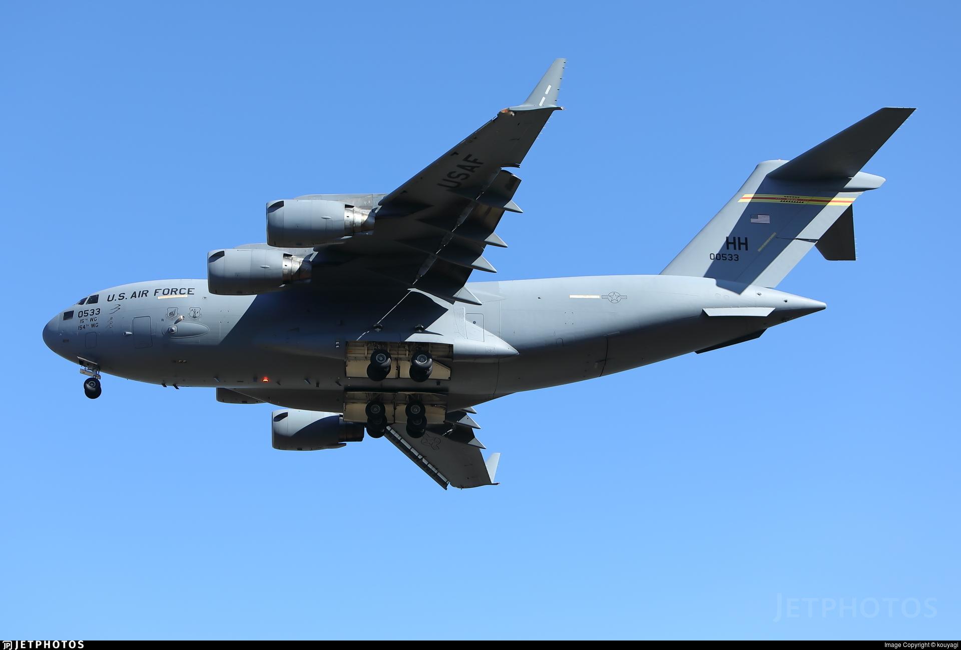 90-0533 - McDonnell Douglas C-17A Globemaster III - United States - US Air Force (USAF)