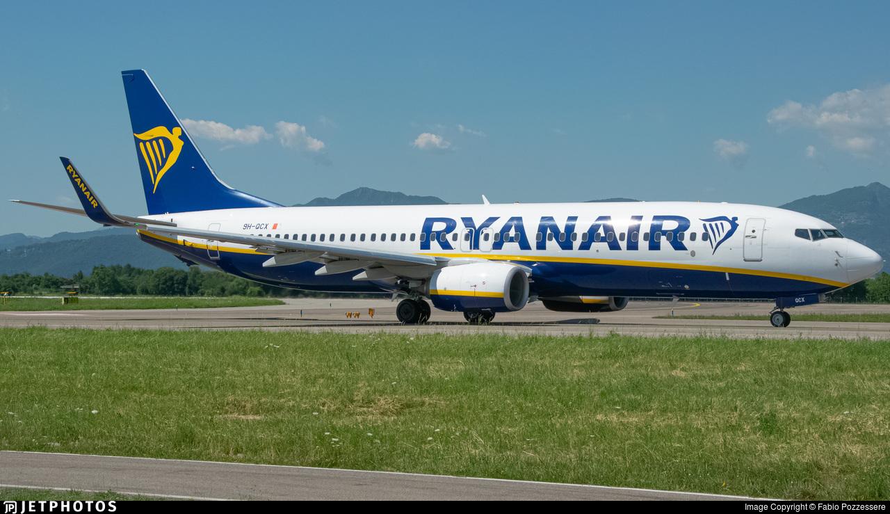 9H-QCX - Boeing 737-8AS - Ryanair (Malta Air)
