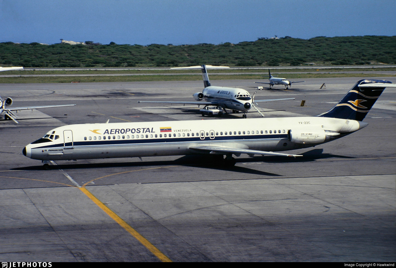 YV-22C - McDonnell Douglas DC-9-51 - Aeropostal - Alas de Venezuela