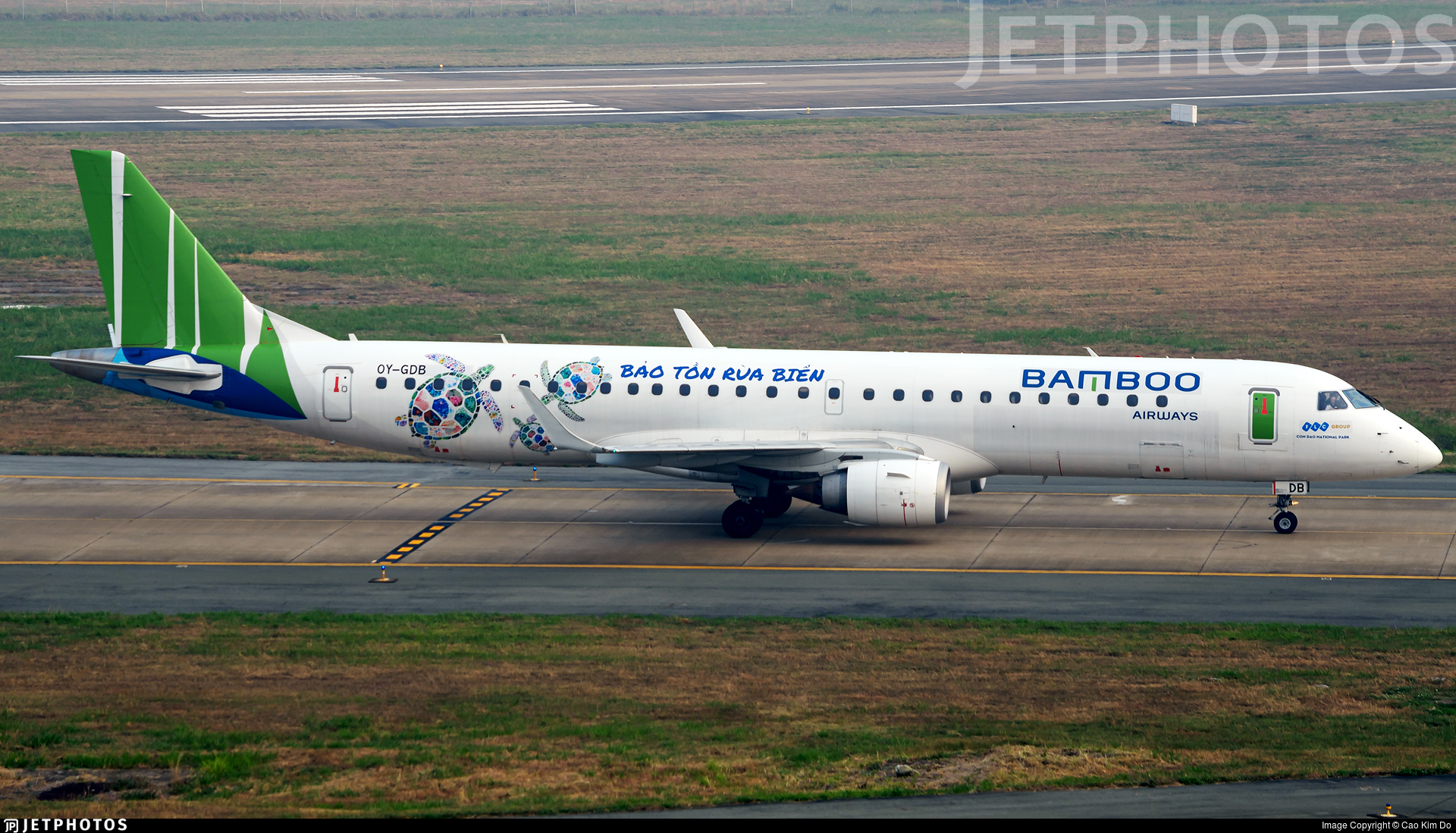 OY-GDB - Embraer 190-200LR - Bamboo Airways (Great Dane Airlines)