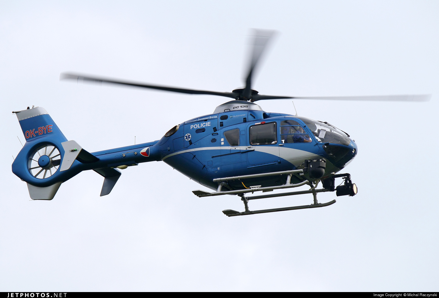 OK-BYE - Eurocopter EC 135T2 - Czech Republic - Police