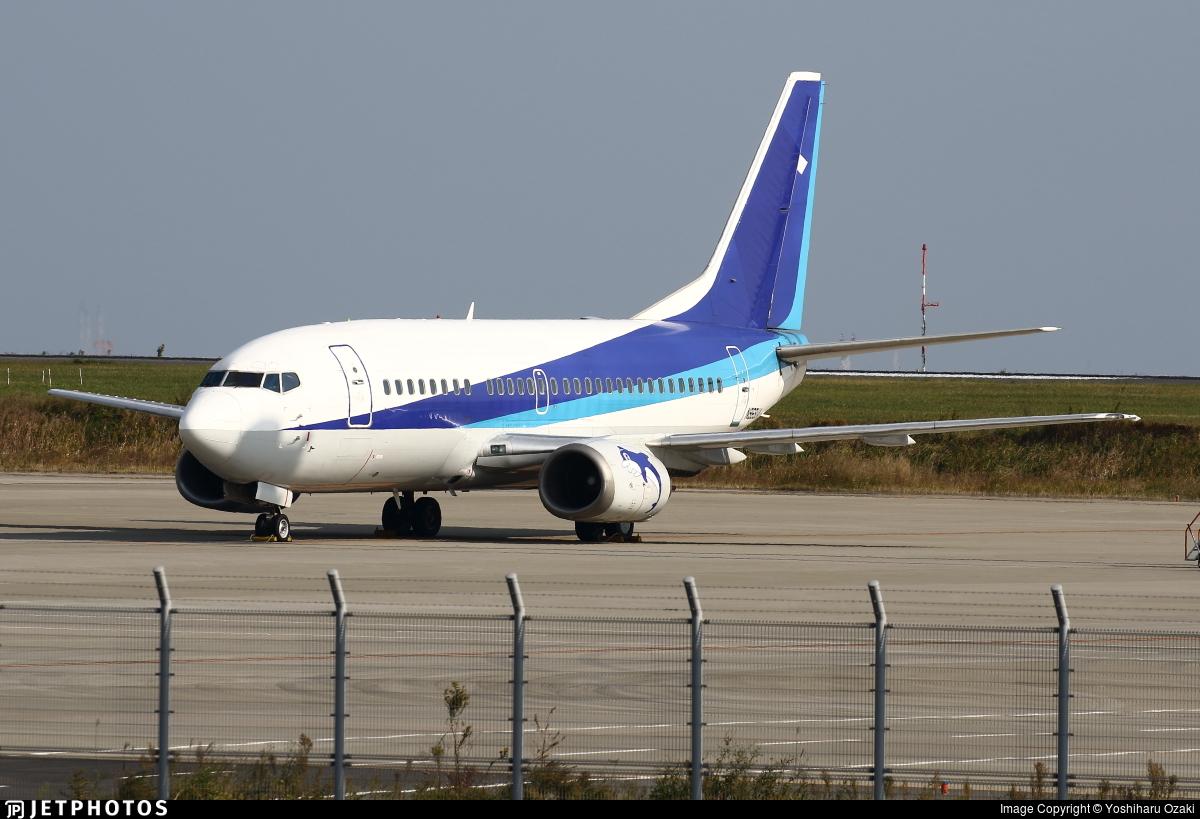 N969UA - Boeing 737-54K - Untitled
