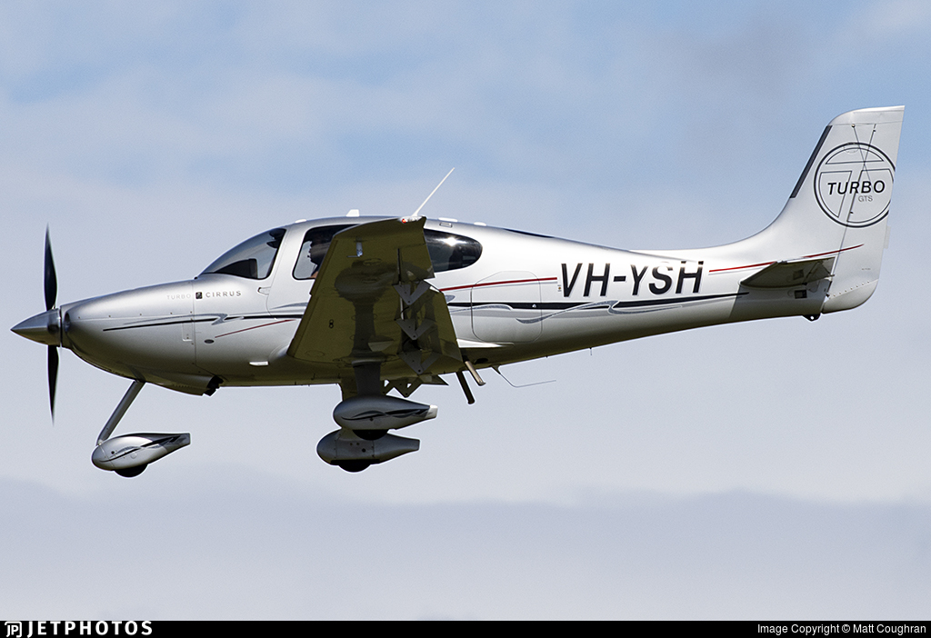 VH-YSH - Cirrus SR22-GTS Turbo - Private