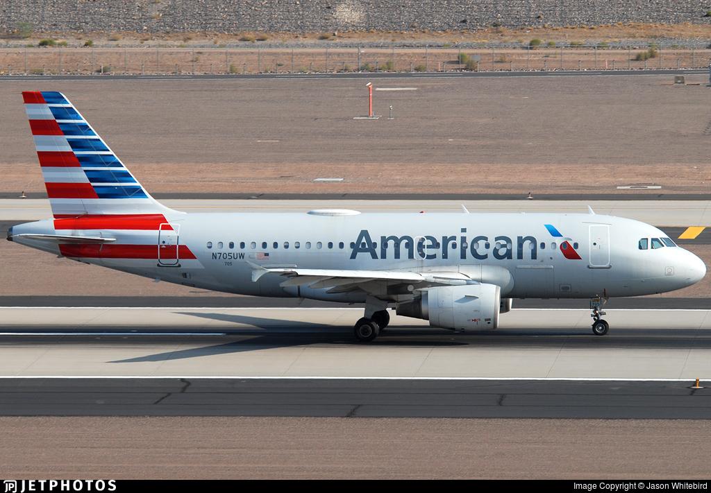 N705UW - Airbus A319-112 - American Airlines