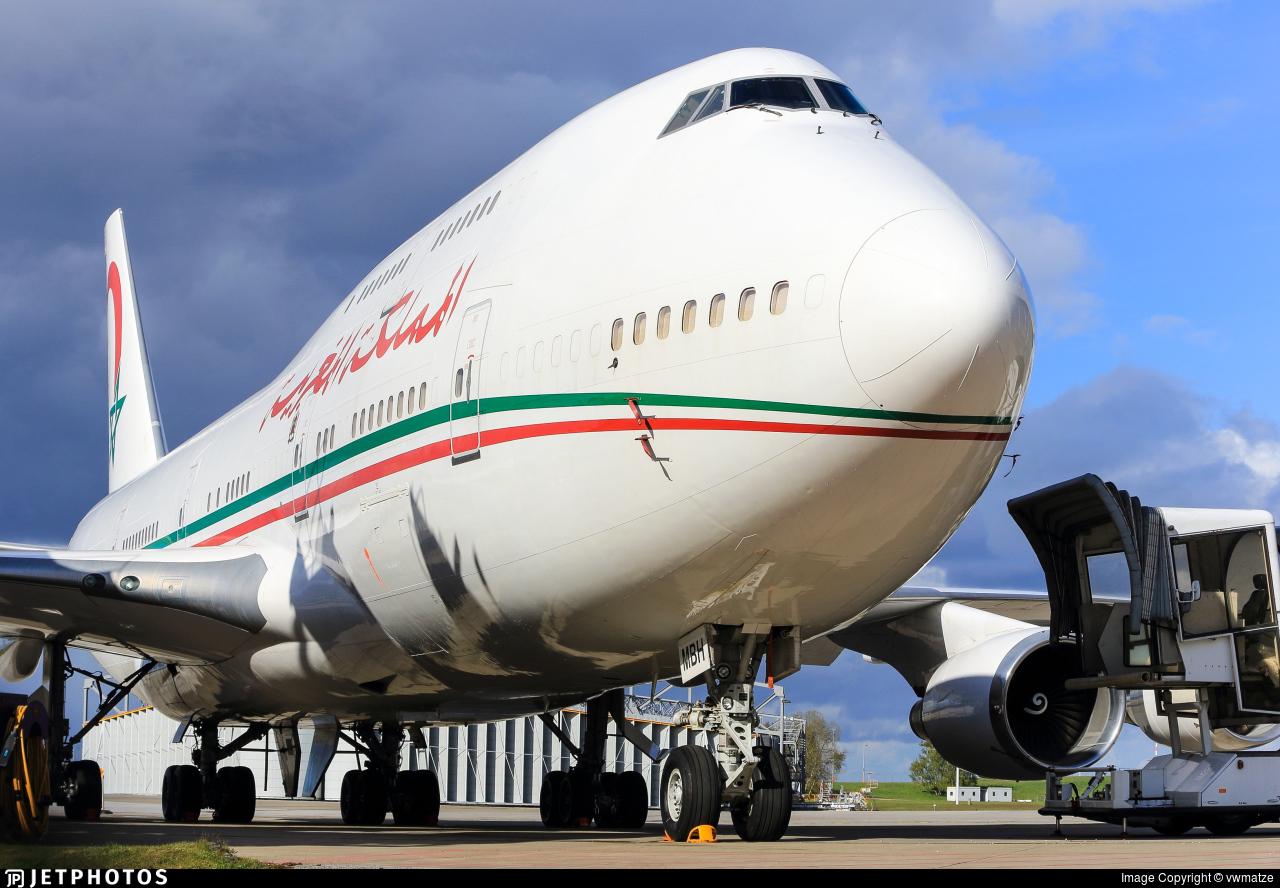 CN-MBH - Boeing 747-48E(M) - Morocco - Government