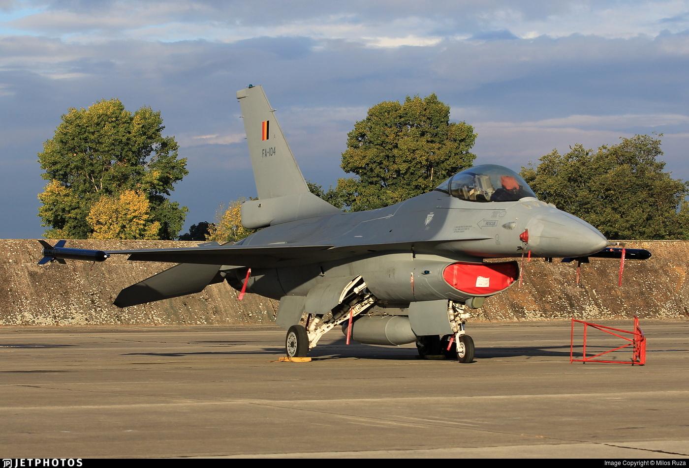 FA-104 - General Dynamics F-16AM Fighting Falcon - Belgium - Air Force