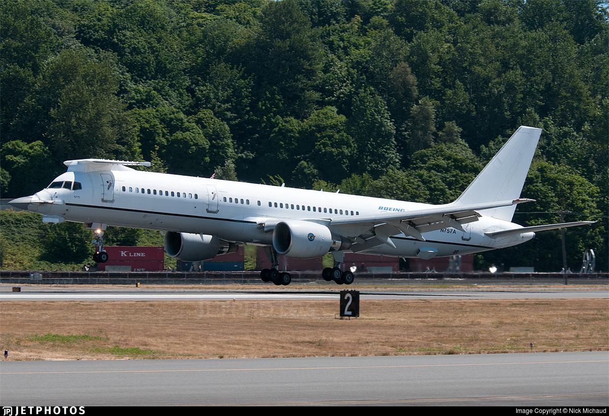 N757A - Boeing 757-220 - Boeing Company
