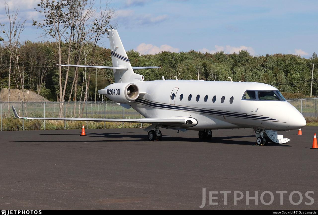 N204DD - Gulfstream G200 - Private