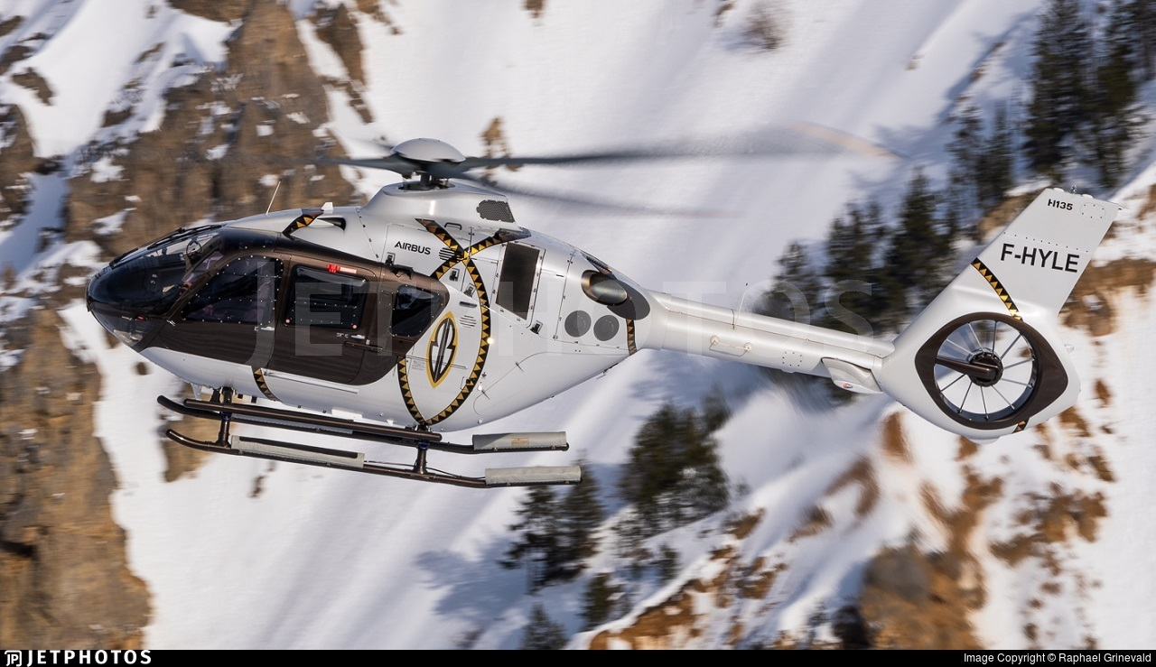 F-HYLE - Airbus Helicopters H135 - Heli Securité