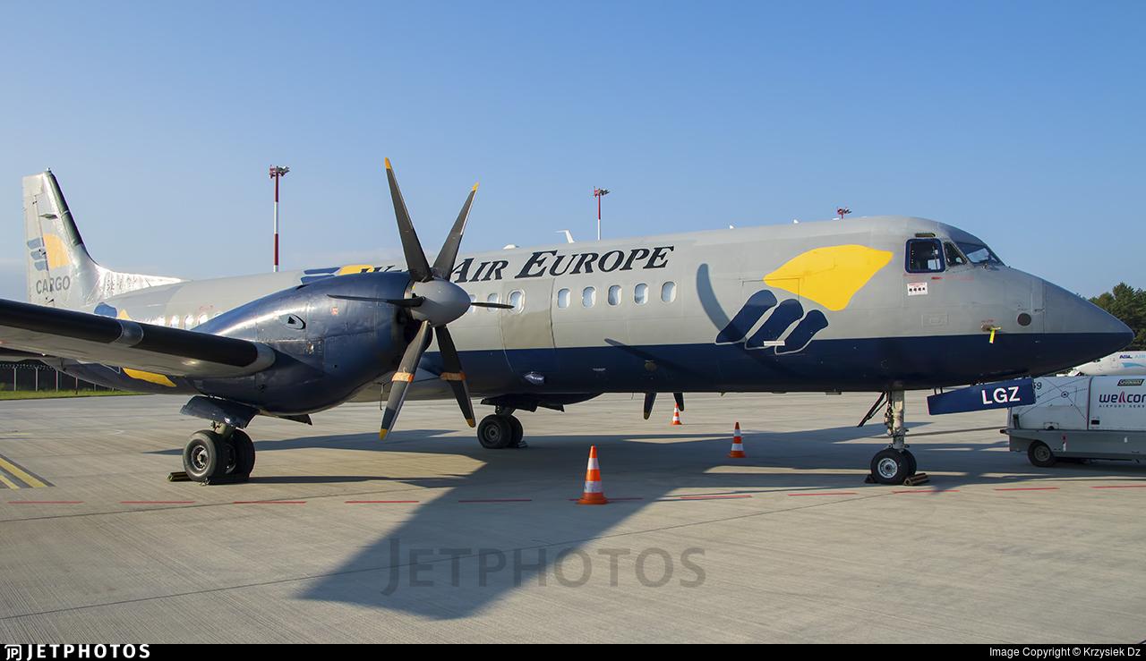 SE-LGZ - British Aerospace ATP-F(LFD) - West Air Europe