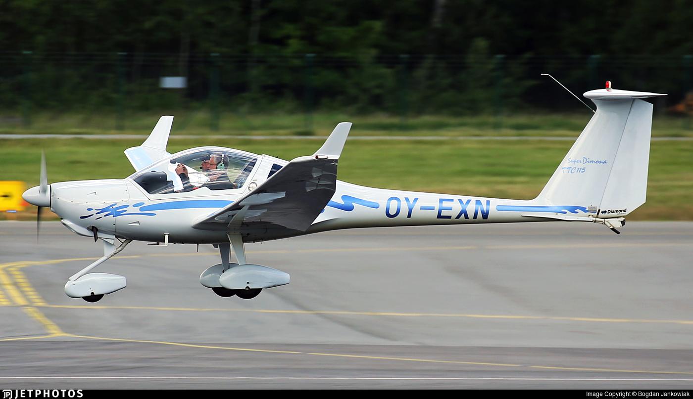 OY-EXN - Diamond HK-36TTC Super Dimona - Private