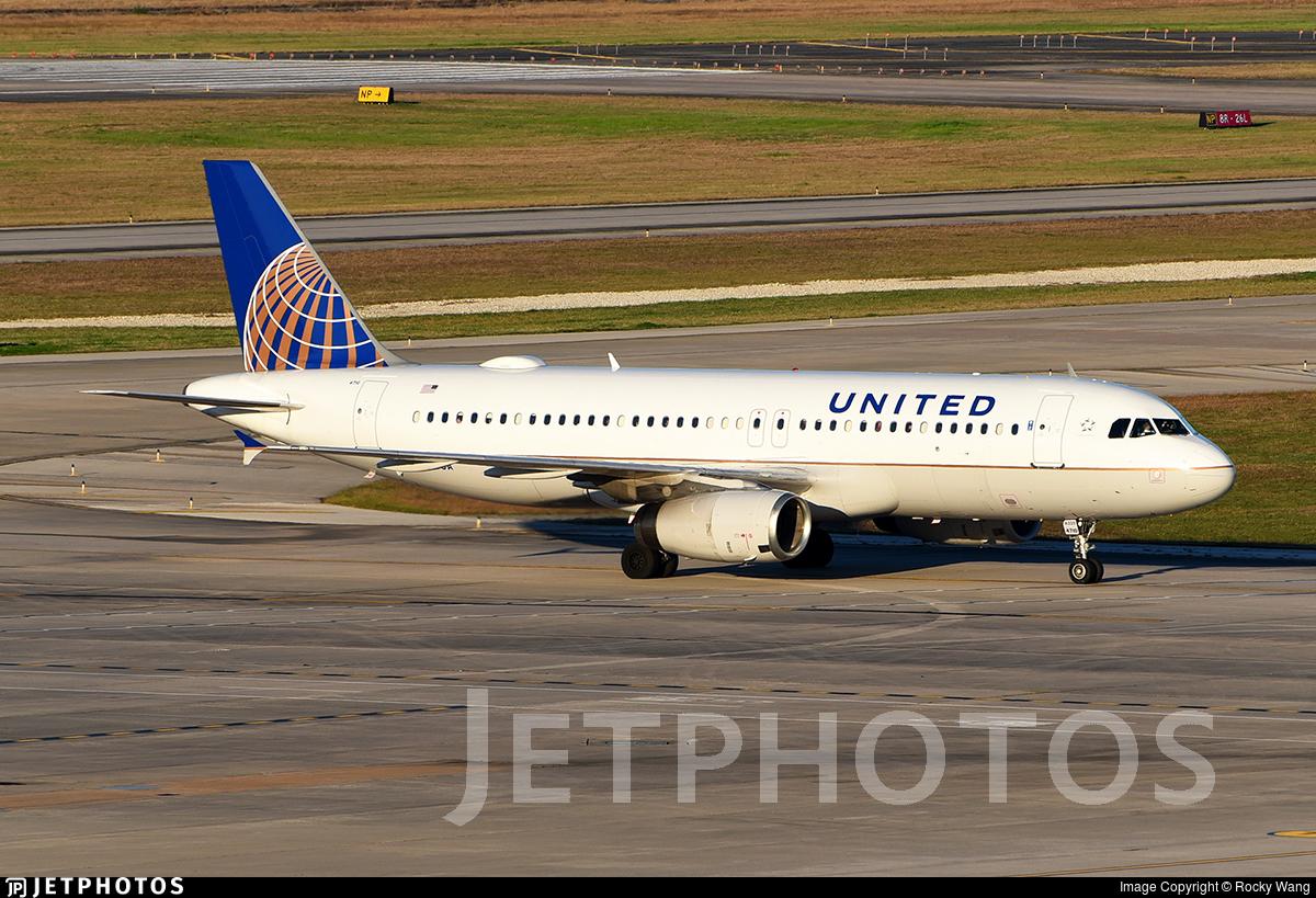 N410UA - Airbus A320-232 - United Airlines