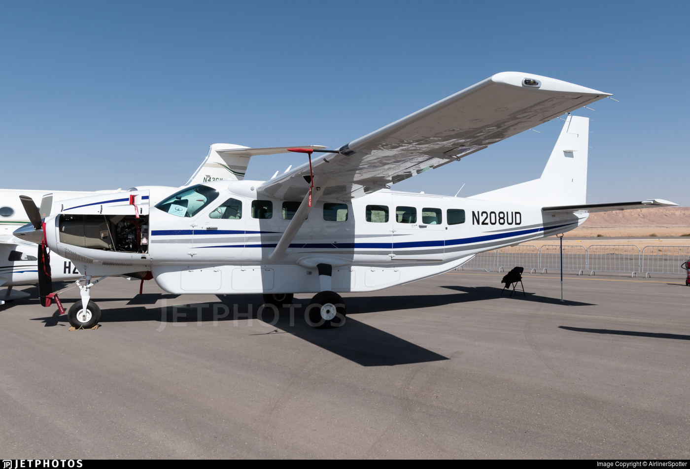 N208ud Cessna 208b Grand Caravan Textron Aviation Airlinerspotter Jetphotos