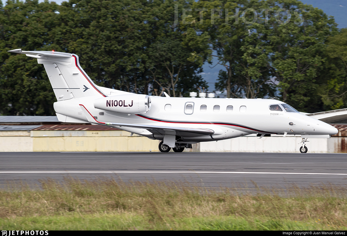 N100LJ - Embraer 505 Phenom 300 - Private