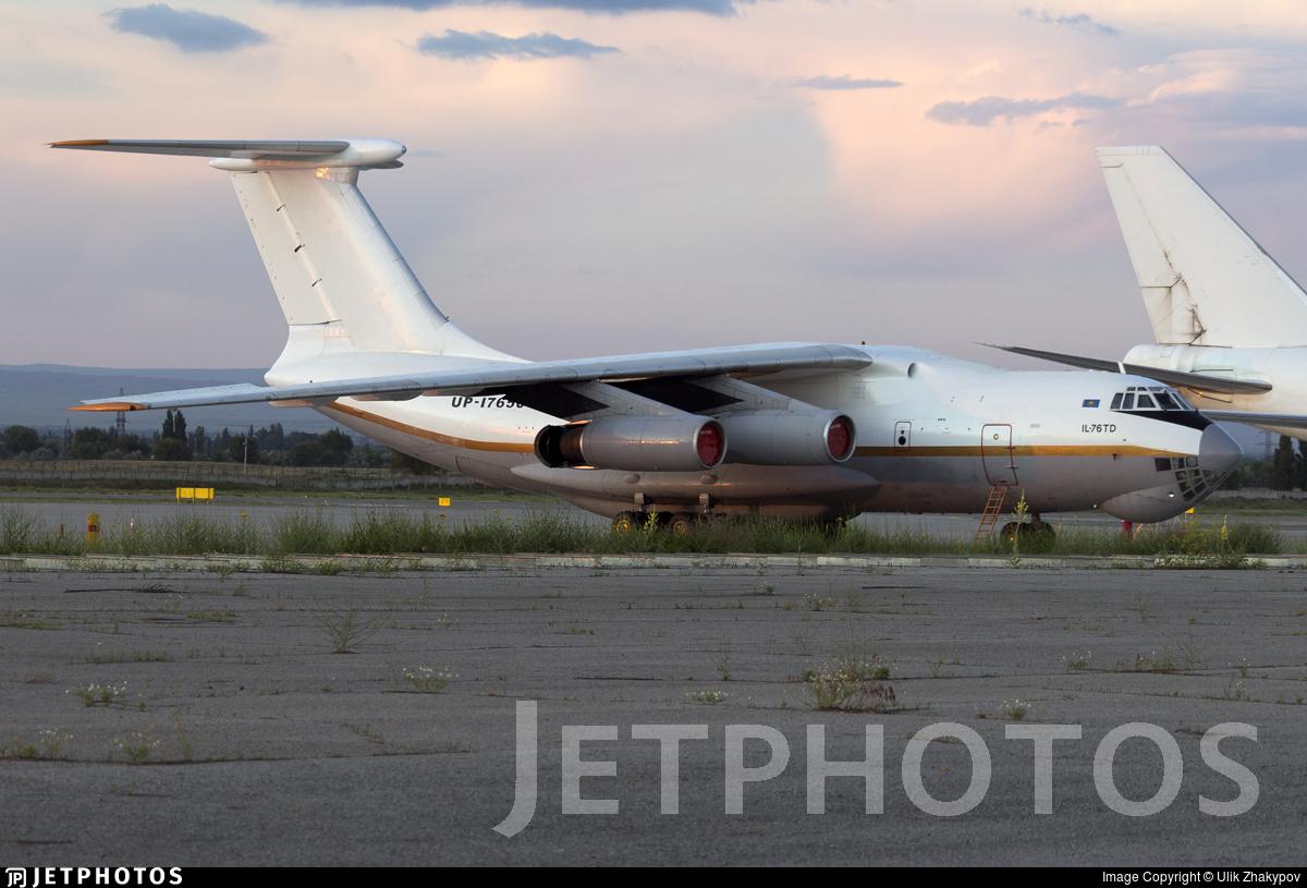 UP-I7650 - Ilyushin IL-76TD - Jupiter Jet Airlines