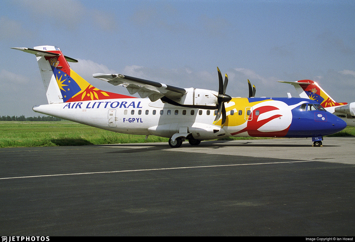 F-GPYL - ATR 42-500 - Air Littoral