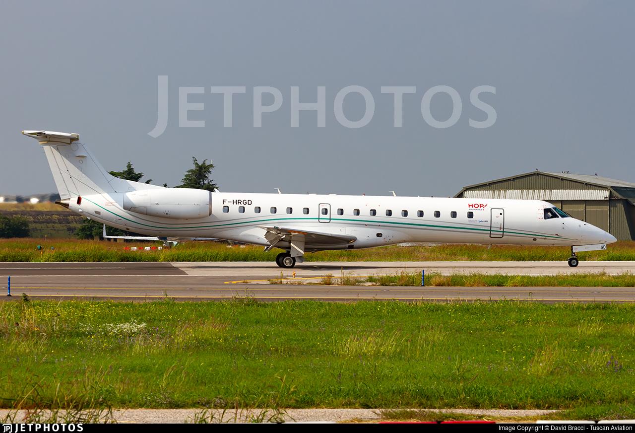 F-HRGD - Embraer ERJ-145LU - HOP! for Air France