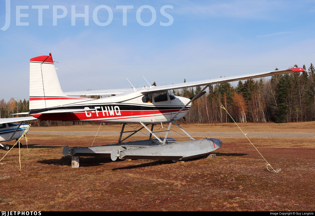 C-FHWQ - Cessna 180C Skywagon - Private
