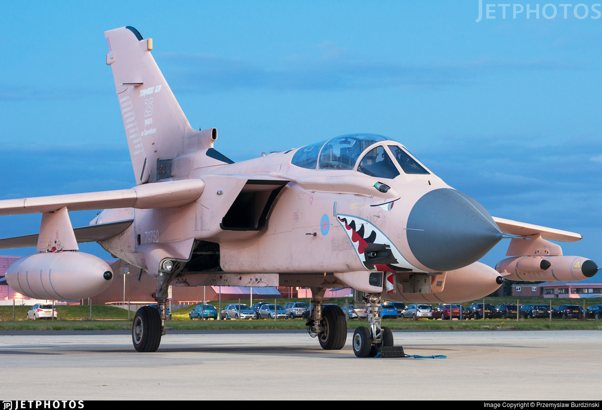 ZG750 - Panavia Tornado GR.4 - United Kingdom - Royal Air Force (RAF)