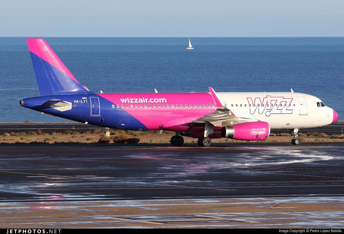 HA-LYT - Airbus A320-232 - Wizz Air