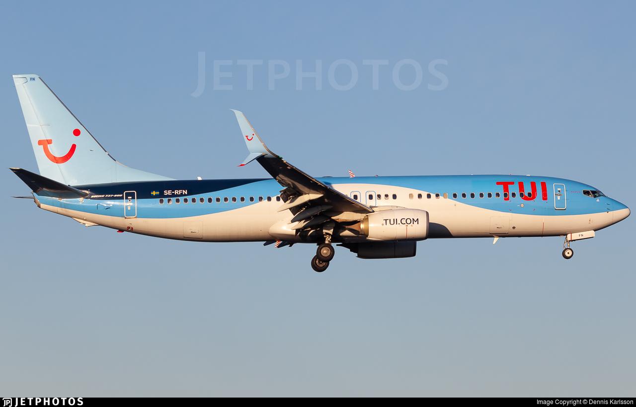 SE-RFN - Boeing 737-8K5 - TUI