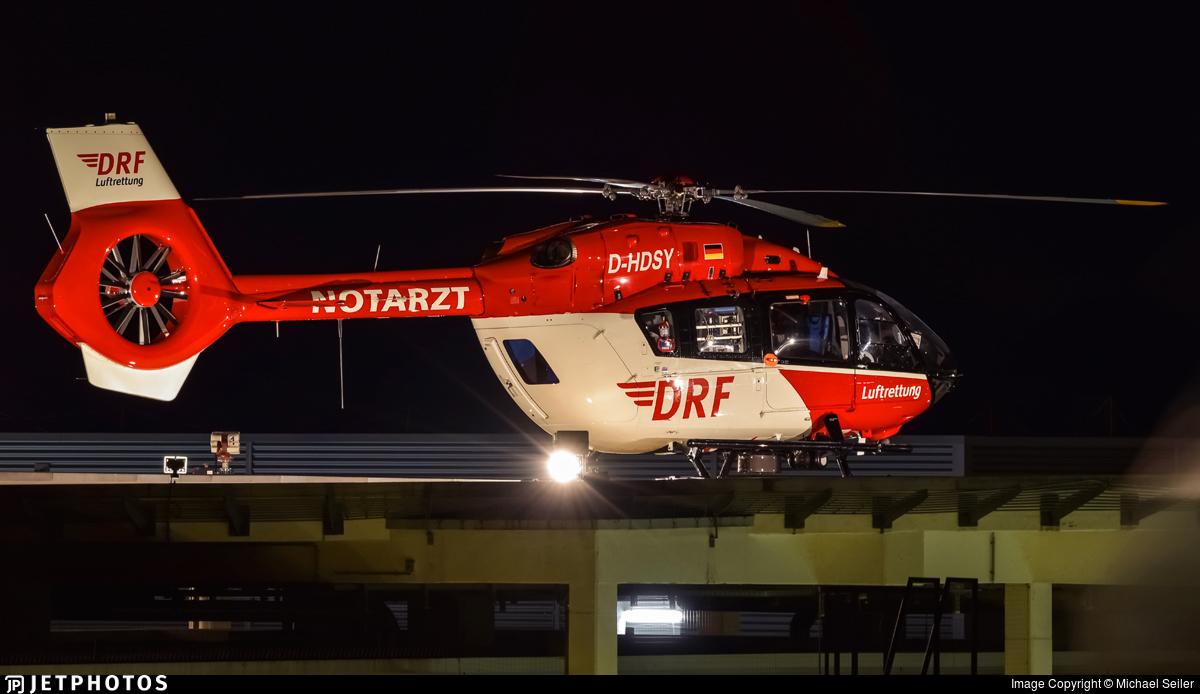 D-HDSY - Eurocopter EC 145T2 - DRF Luftrettung