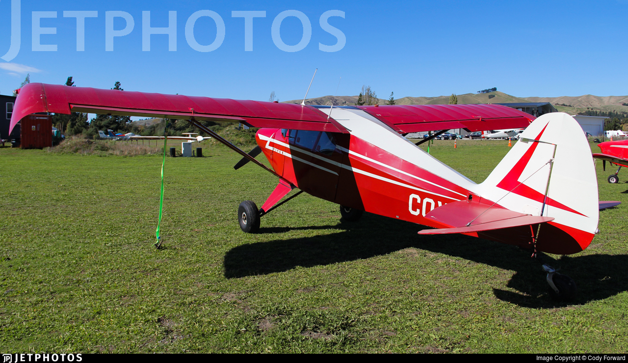 ZK-COX - Piper PA-22-150 Pacer - Private